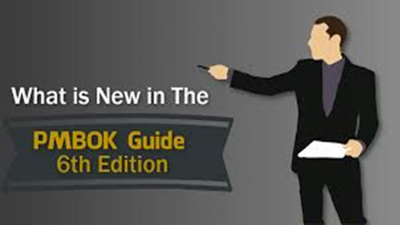 What do you know about PMBOK Guide 6th edition?